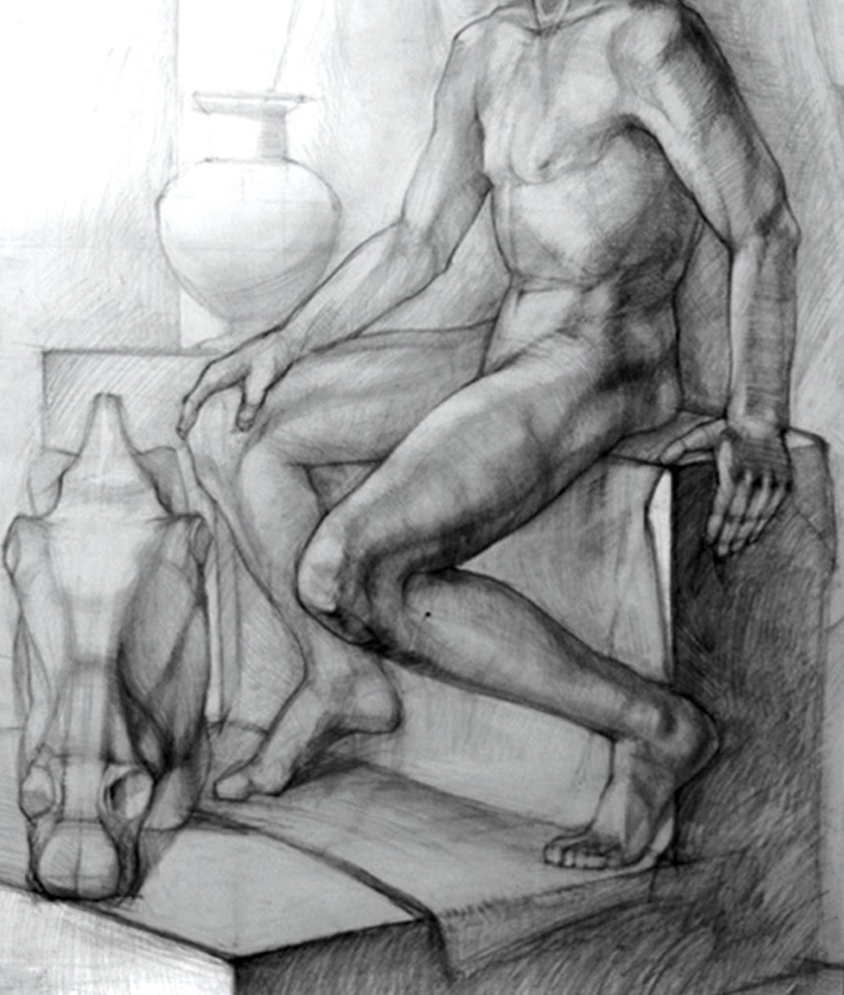 Натюрморт с фигурой