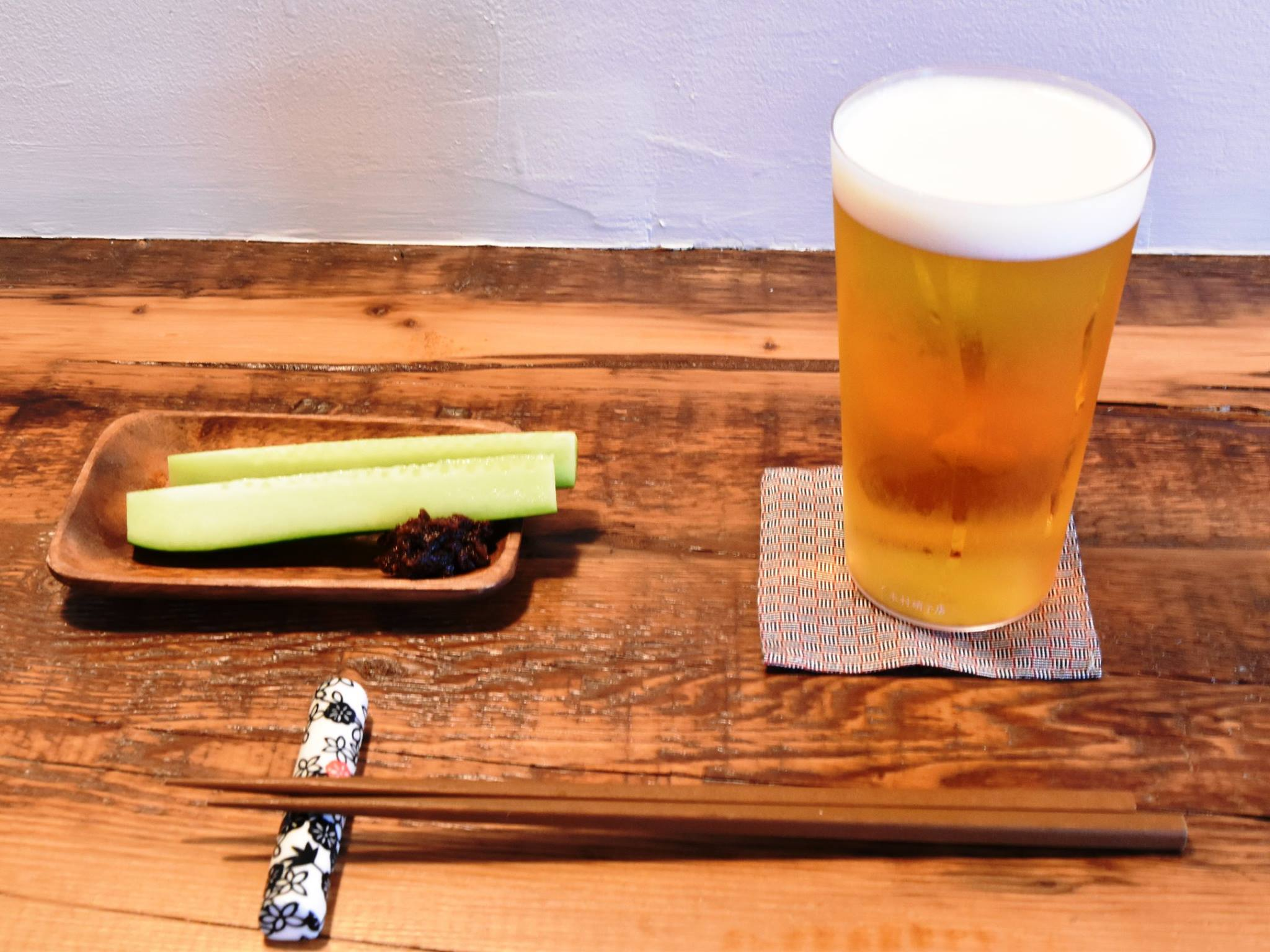 まずはビールから!