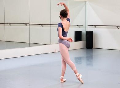 Rachel Harrison in rehearsal