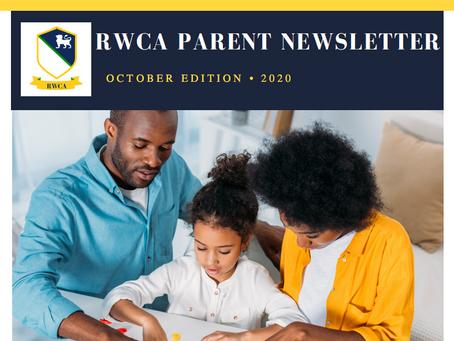 Parent Newsletter | October Edition