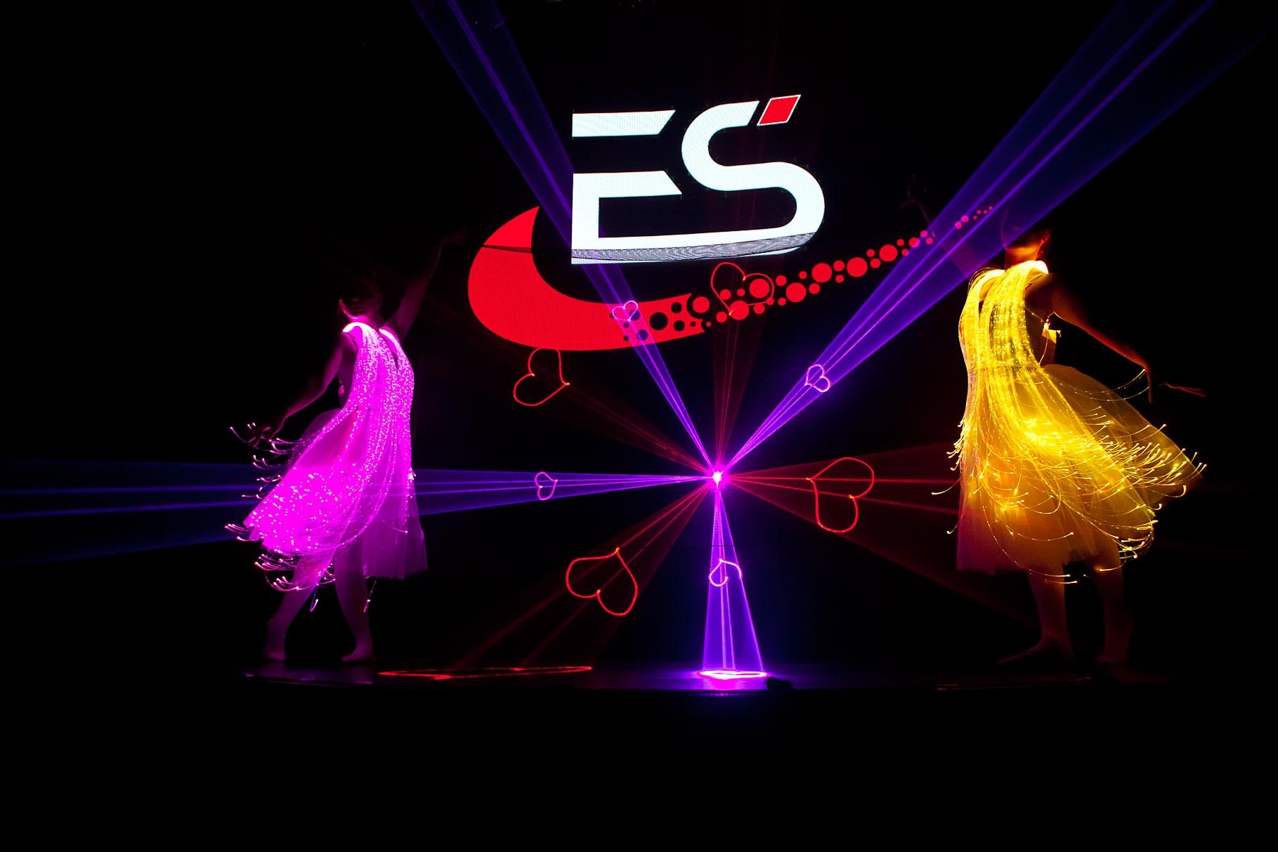 Лазерные балерины