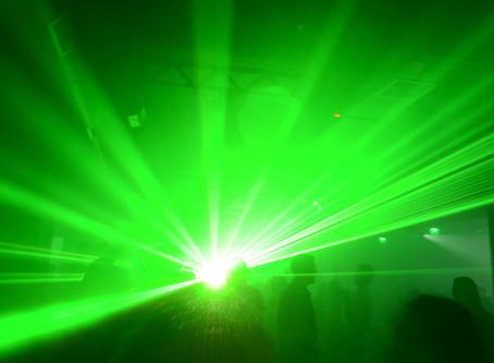 Невероятное лазерное шоу в клубе RIA