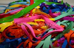 Цветная бумага для бумажного шоу