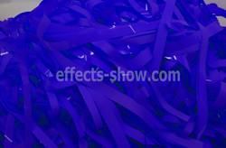 синяя бумага для бумажного шоу