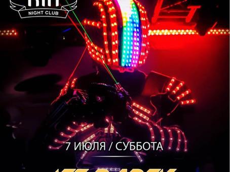 ROBOTS EFFECTS PROJECT в Краматорске в клубе РИО!