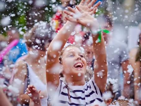 Снежное шоу на Family Day