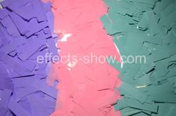 Конфетти 3х цветный микс