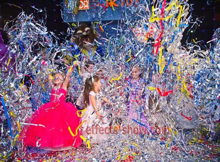 Разноцветное Бумажное Шоу