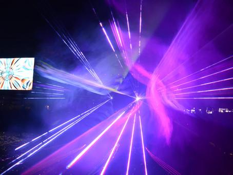 Лазерное Шоу в честь 95 летия Волчанска!