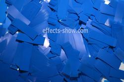 Конфетти синие