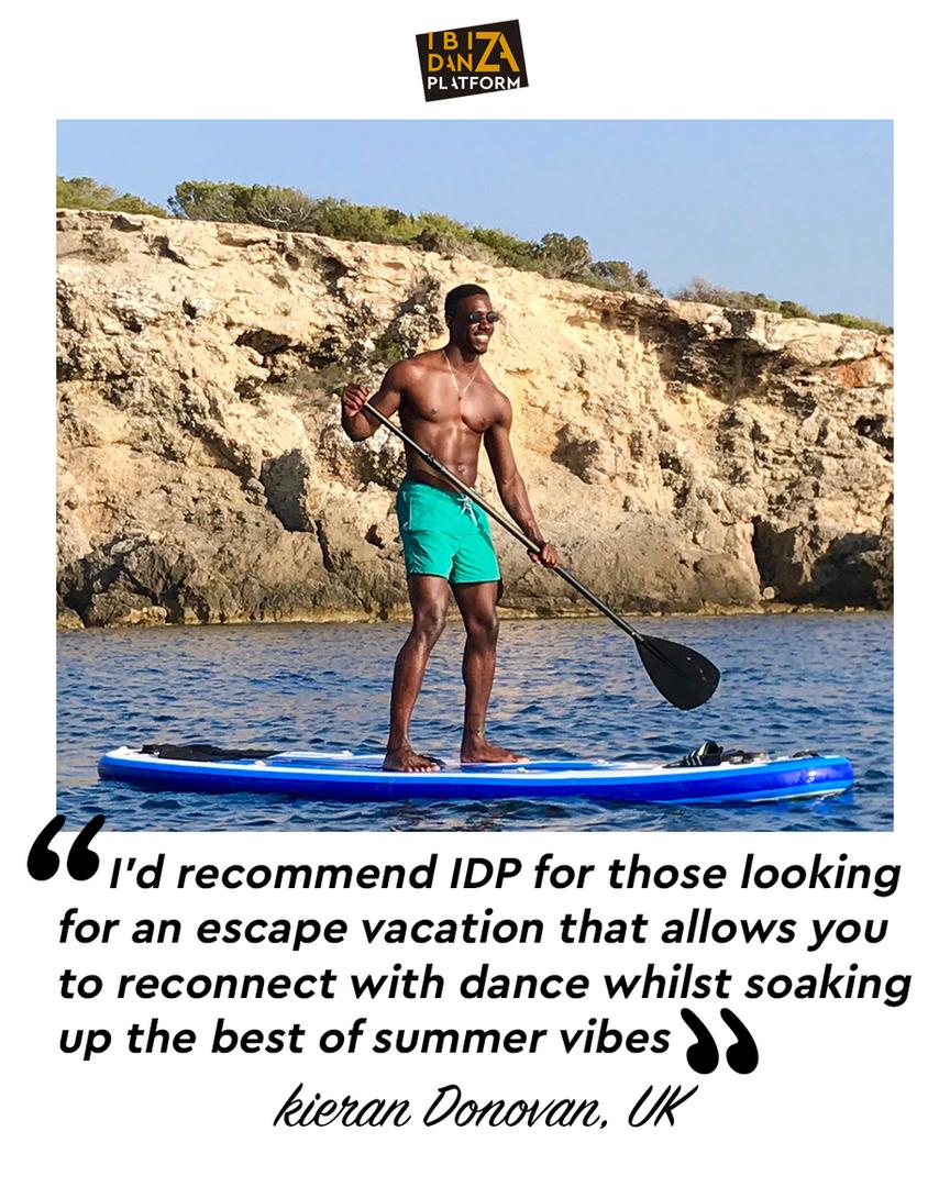 IDP Testimonial / Kieran Donovan