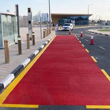 tms qatar road marking
