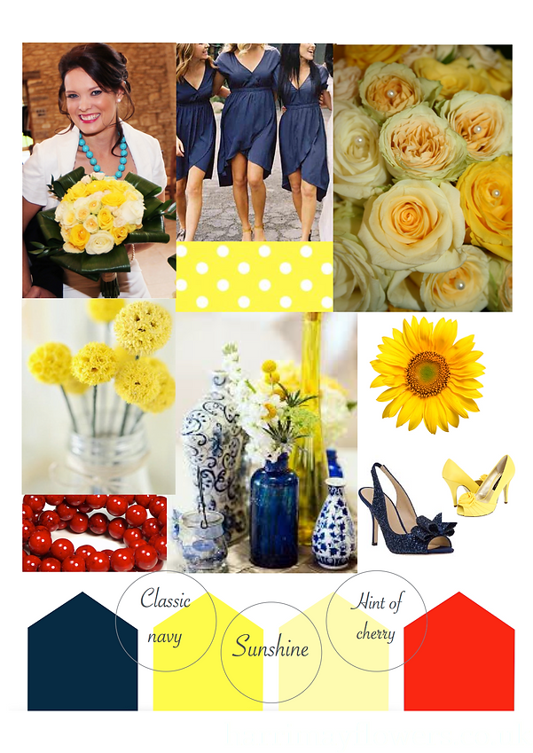 Hint of Sunshine mood board