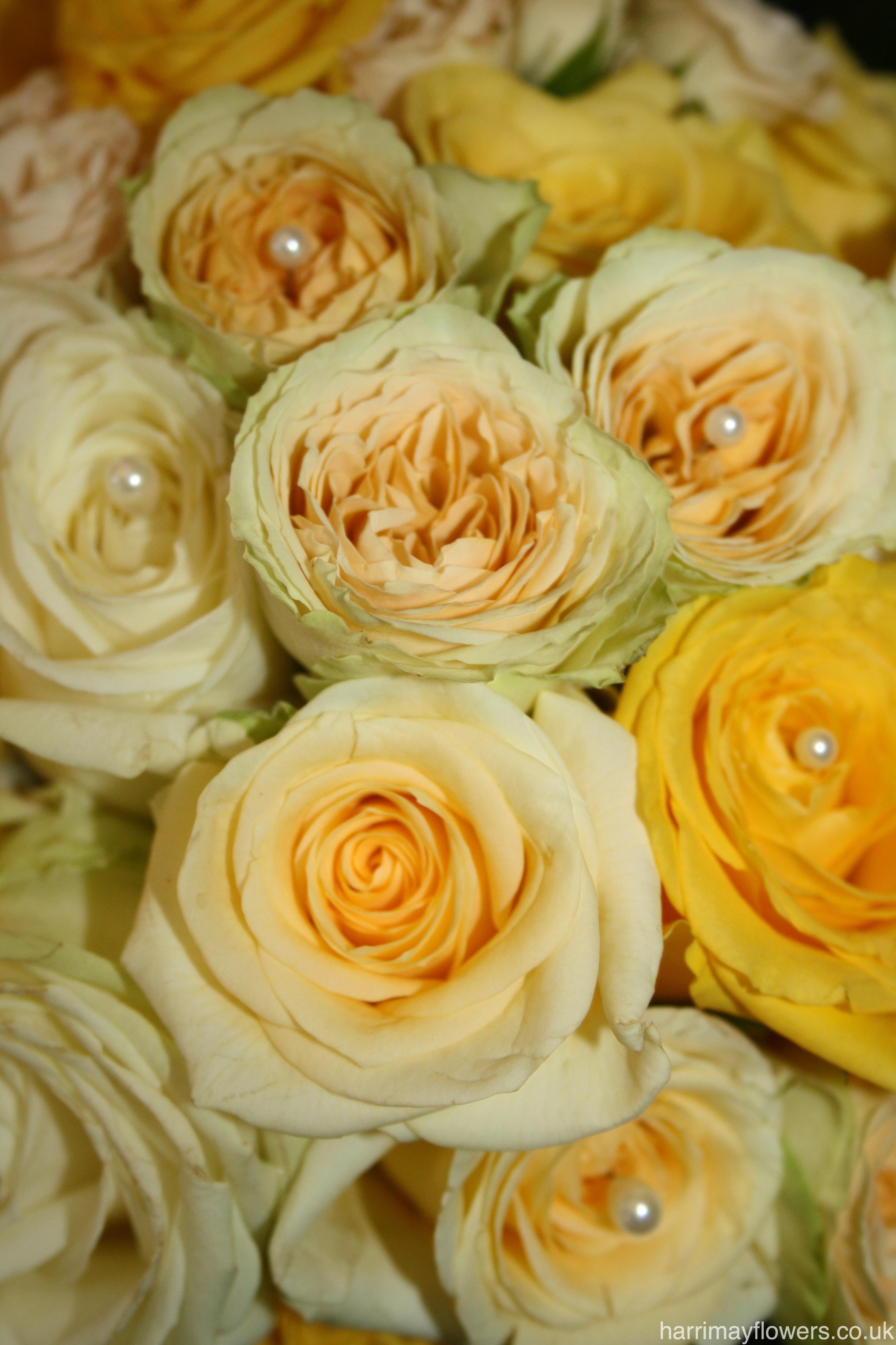 Yellow Rose Brides Bouquet