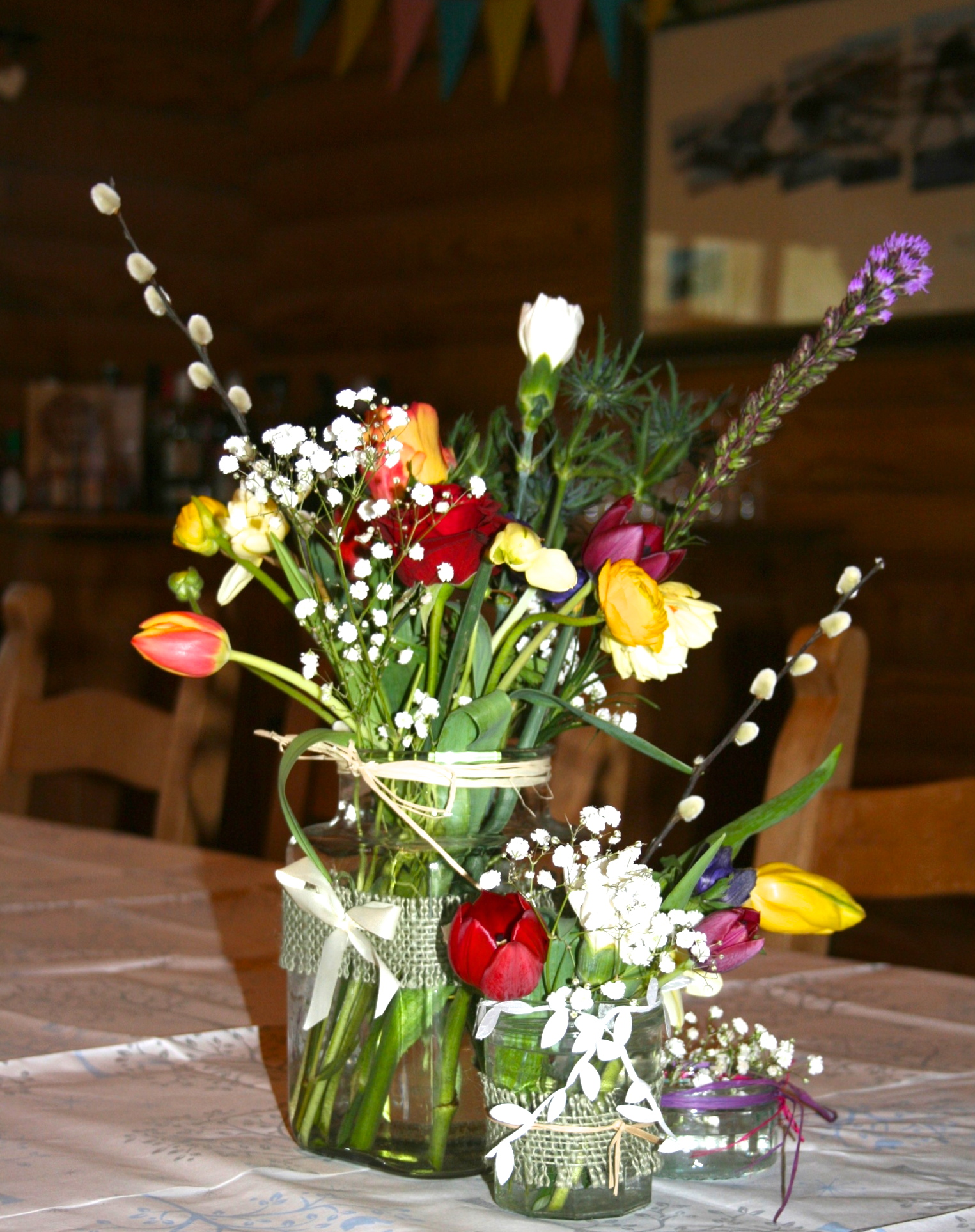 Tulip county jar arrangement