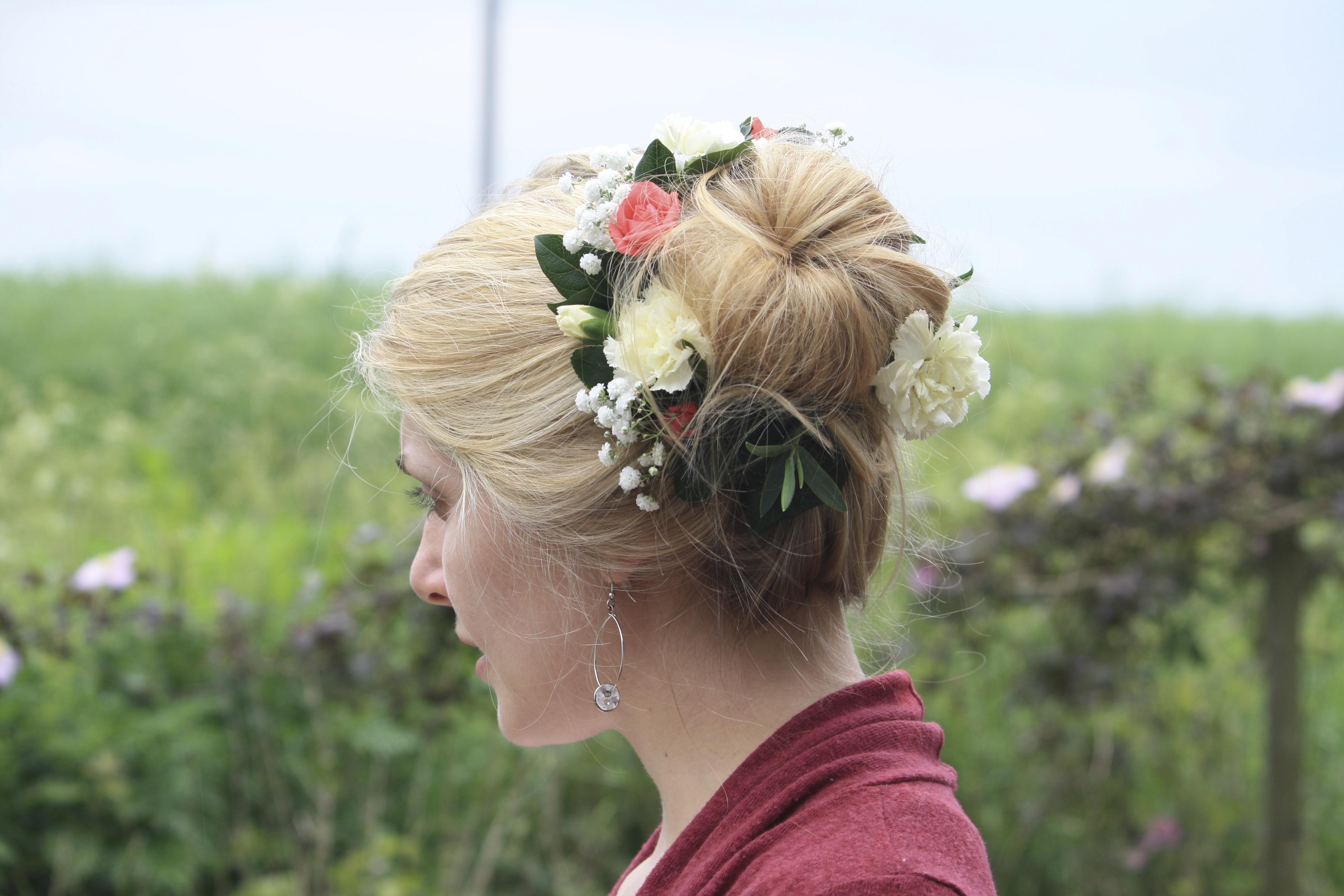 Flower Decorated Bun
