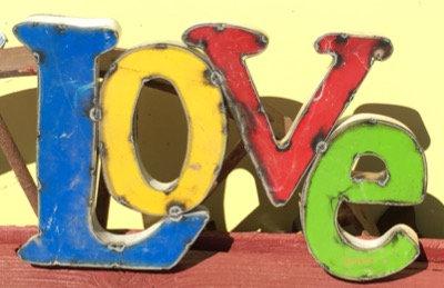 Metal Sign - Love