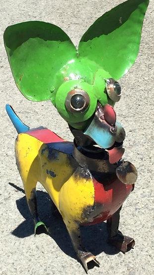 Chihuahua Metal Art