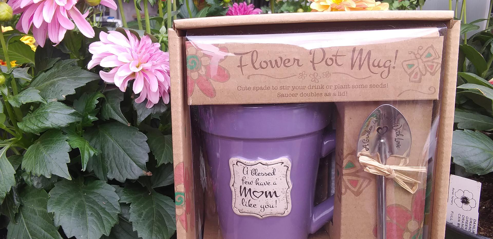 Mom's Flower Pot Mug