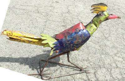 Roadrunner Metal Art