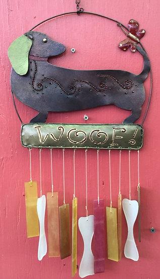 Woof Dog Windchime