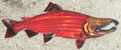 3D Red Fish