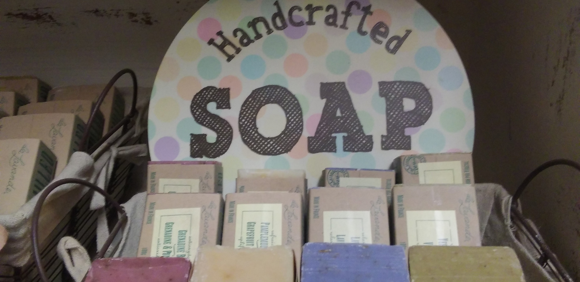 Vegetarian French Soaps