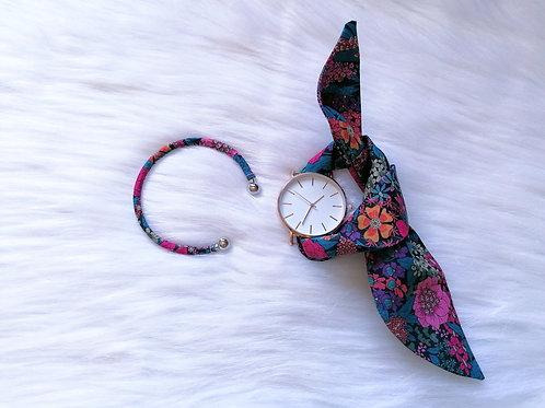 Bracelet Jonc Liberty Flower powerl