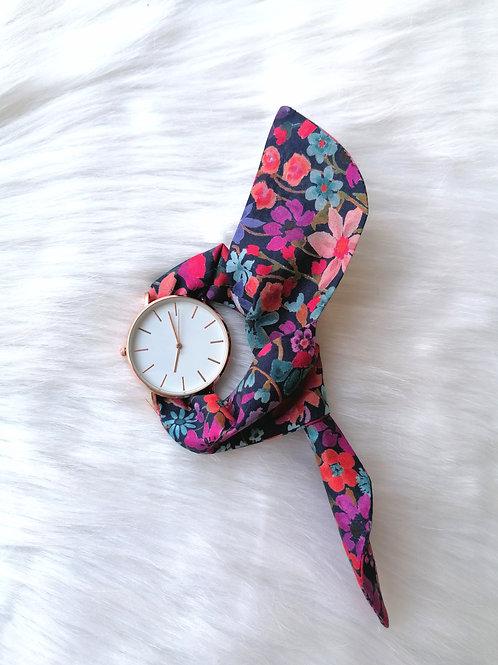 Montre bracelet flower love