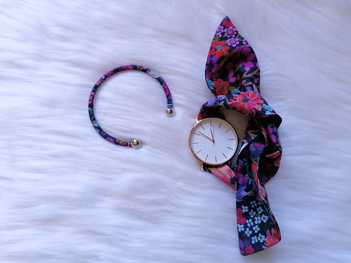 Bracelet Jonc Liberty Flower Love