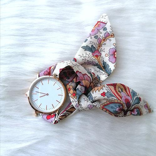 Montre bracelet arabesque