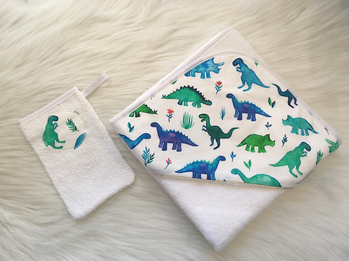 Cape de bain Dino