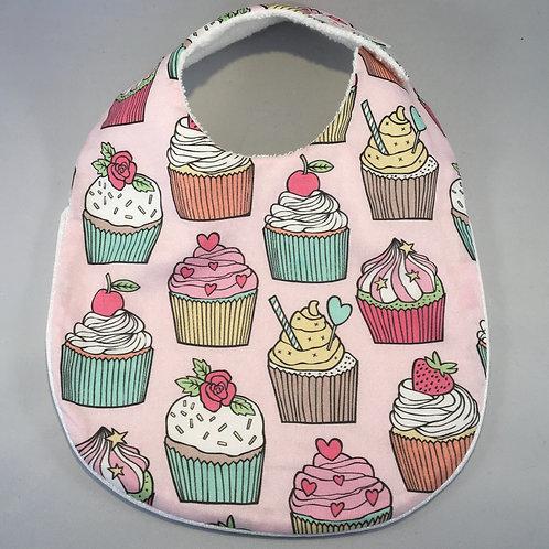 Bavoir Cupcake