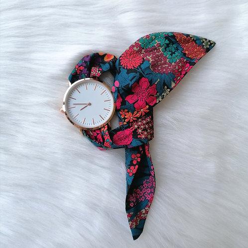 Montre bracelet flower power