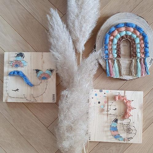 Collection Arc en Ciel By Louve String Art