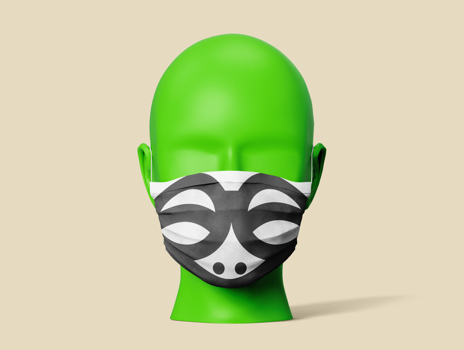 07 Medical Face Mask Mock-Up Template (1