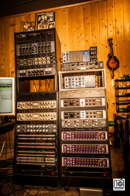 Some of the Studio A Gear