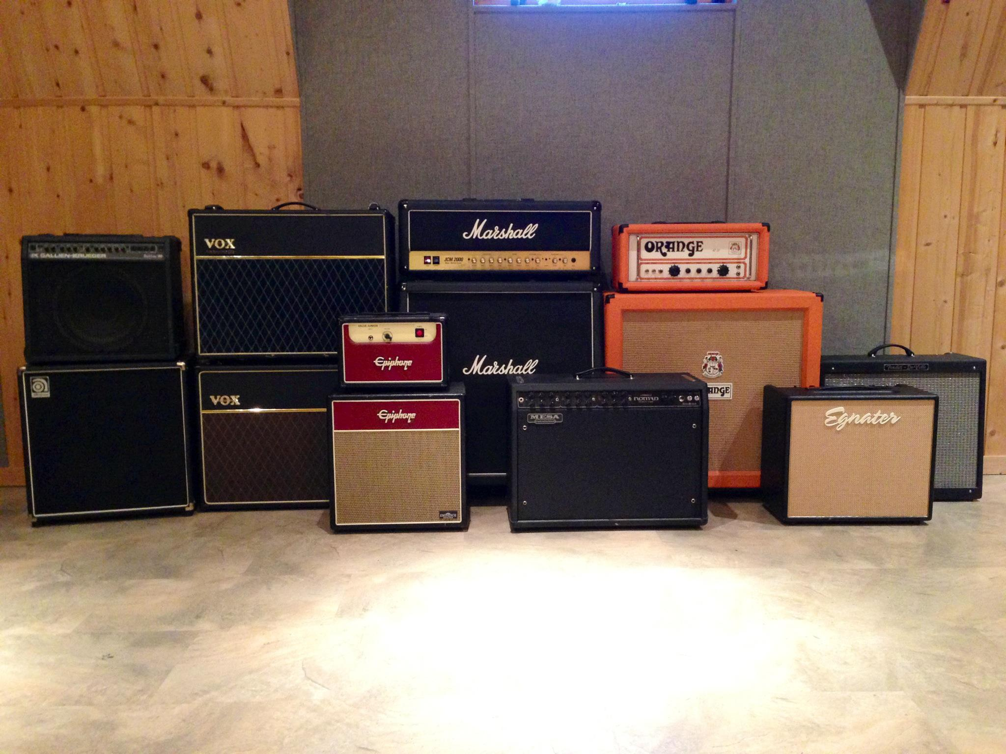 Some of our amps
