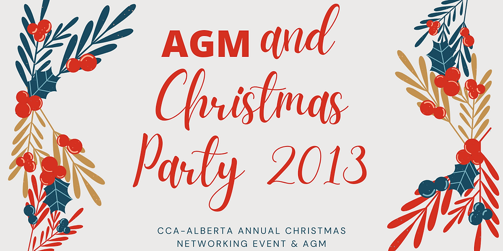 AGM and Christmas Party 2013
