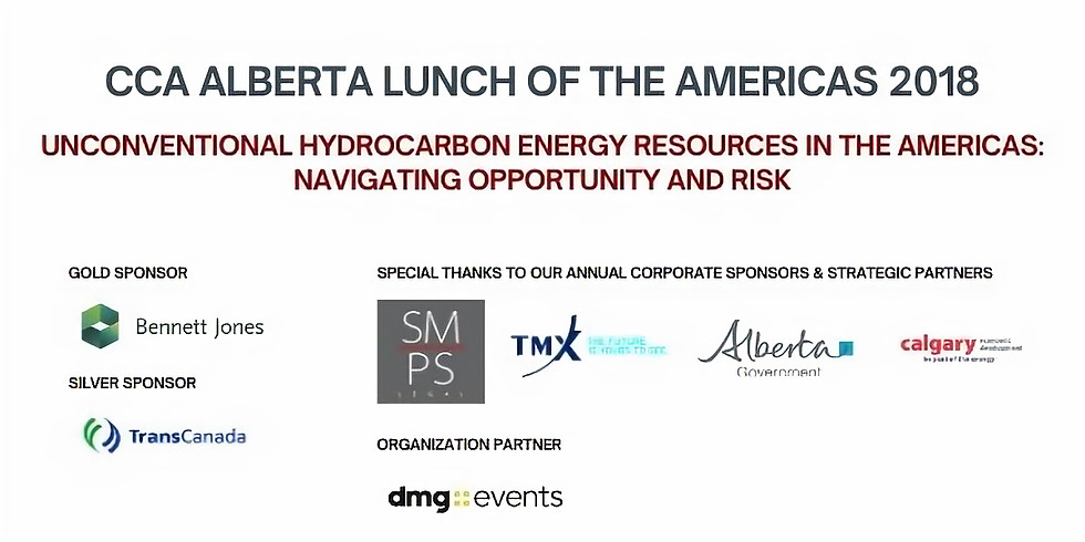 CCA Alberta Lunch of the Americas 2018