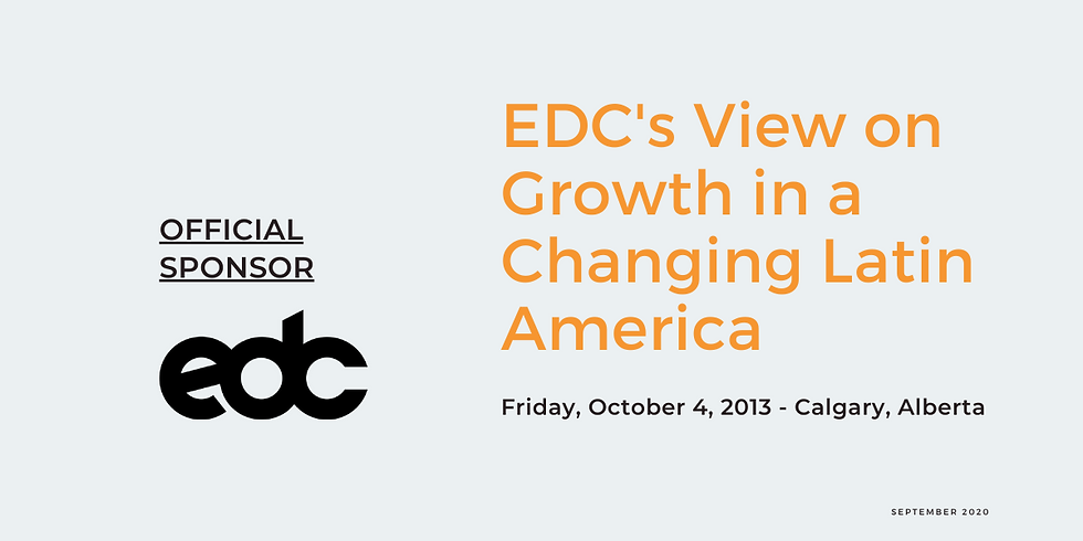EDC's View on Growth in a Changing Latin America