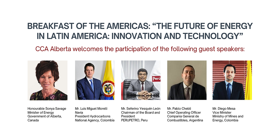 """Breakfast of the Americas: """"The Future of Energy in Latin America: Innovation and Technology"""""""