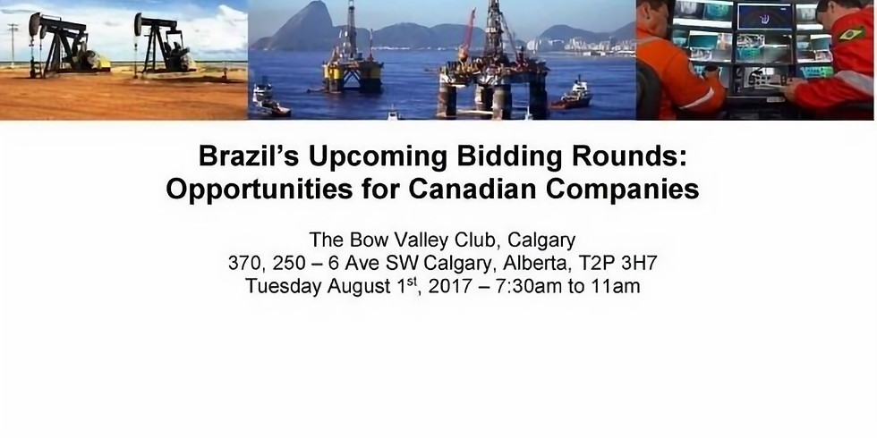 Brazil's Upcoming Bidding Rounds: Opportunities for Canadian Companies