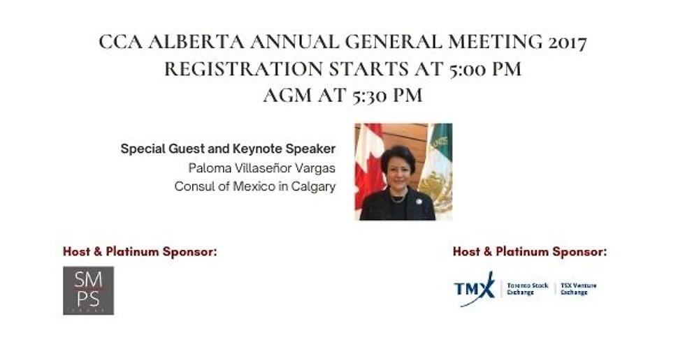 CCA ALBERTA ANNUAL GENERAL MEETING