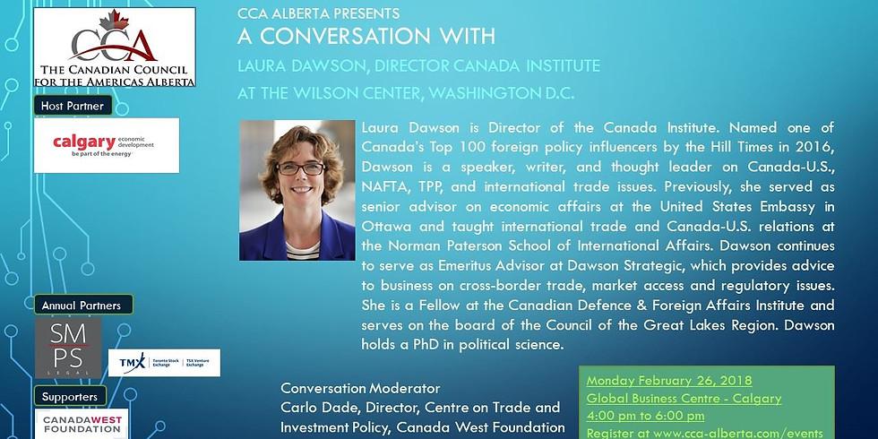 A Conversation with Laura Dawson, Canada Director, The Wilson Centre, Washington D.C.