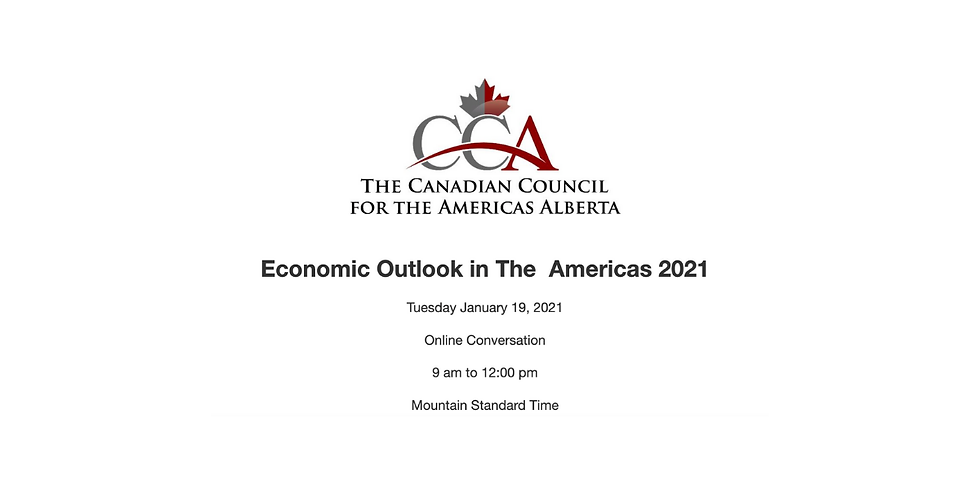 Economic Outlook in The Americas 2021