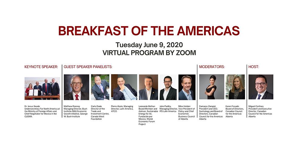 CCA Breakfast of the Americas 2020