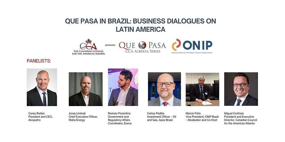 Que Pasa in BRAZIL: Business Dialogues on Latin America