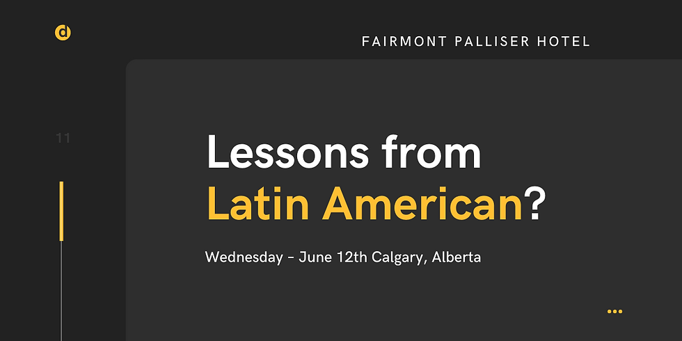 Lessons from Latin America