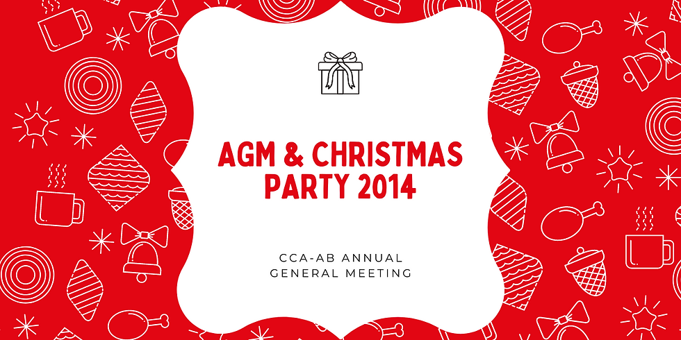 AGM & Christmas Party 2014